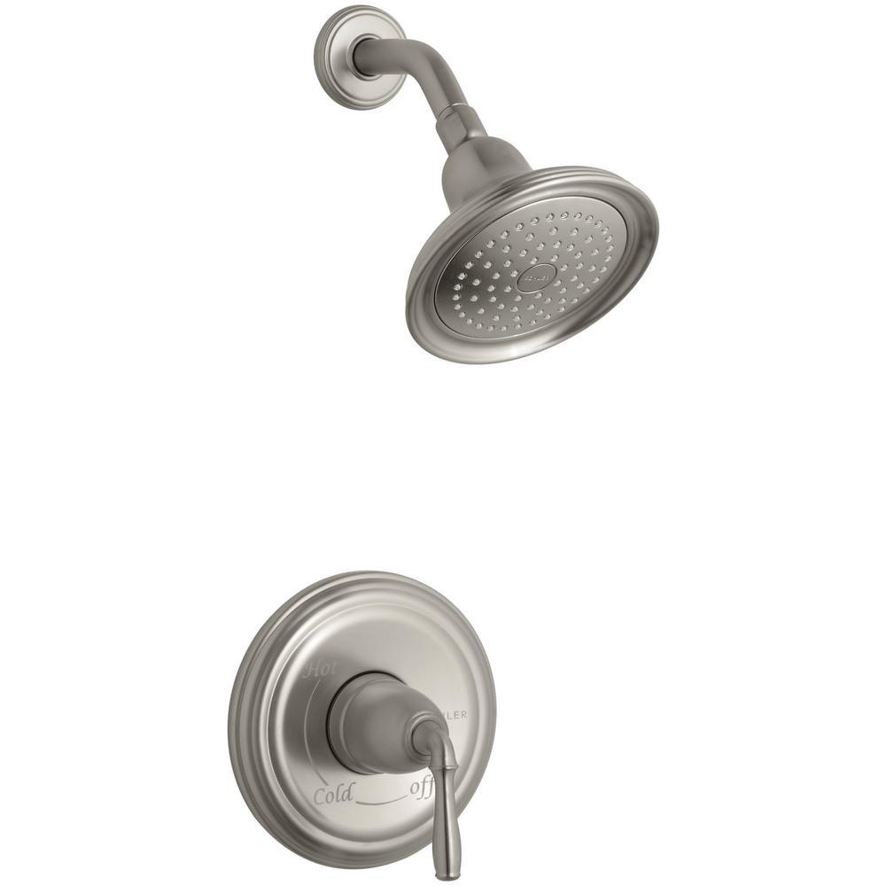 Bathroom Faucet Trim Kit kohler devonshire 1-handle rite-temp shower faucet trim kit in