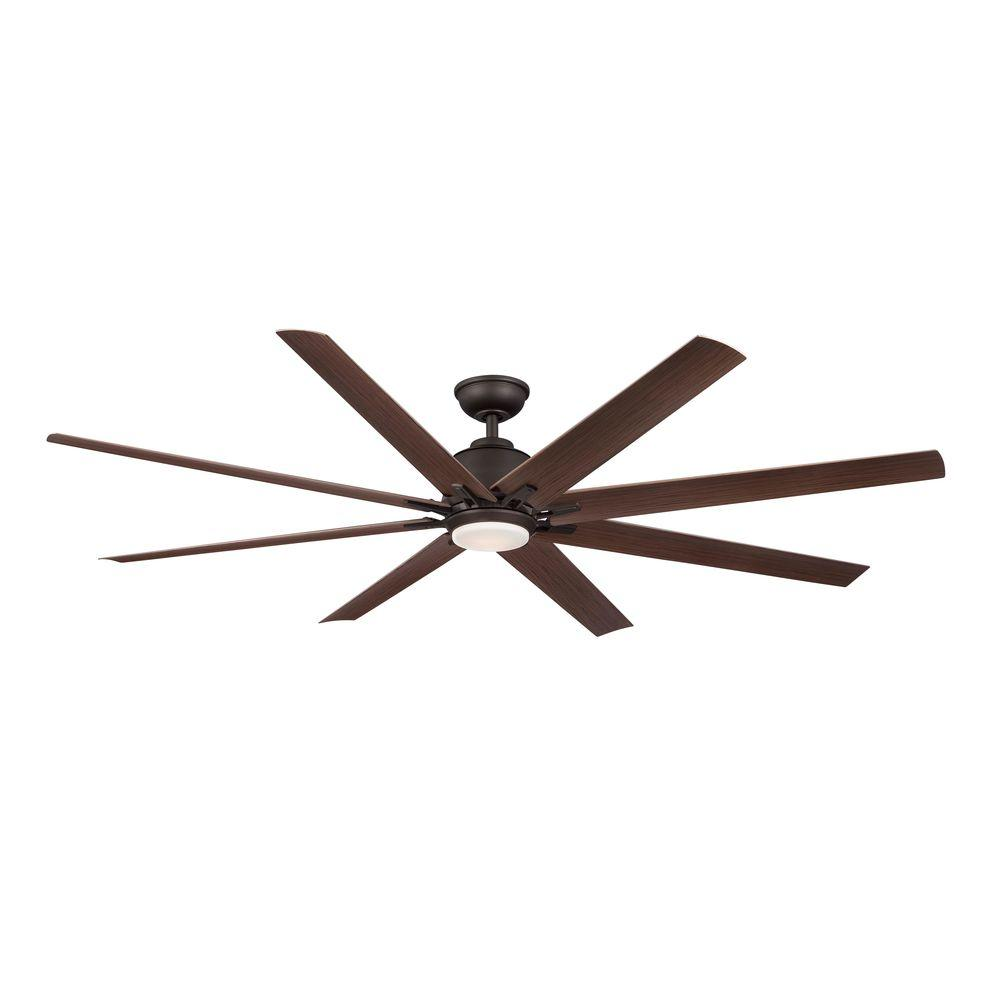 Good 72 Inch Outdoor Fan Part - 5: HDC Kensgrove 72u2033 LED Outdoor Oil-Rubbed Bronze Ceiling Fan YG493OD-ORB U2013  Garland Home Center