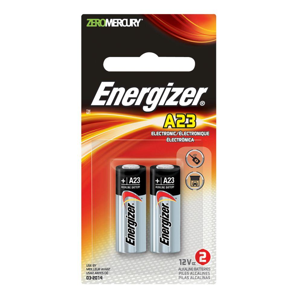 energizer a23 12 volt alkaline battery 2 pack lot of 6 garland home center. Black Bedroom Furniture Sets. Home Design Ideas
