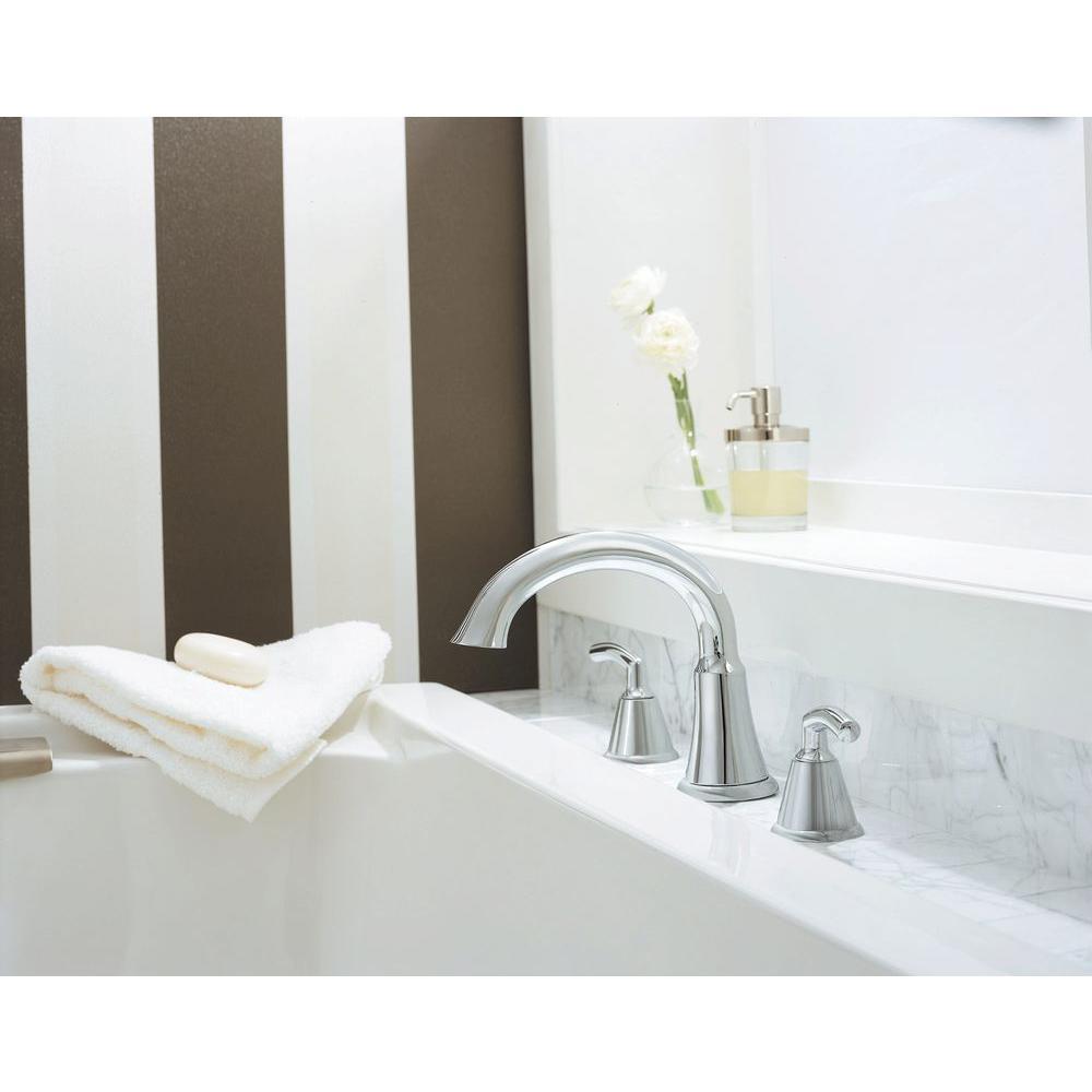 American Standard Tropic 2-Handle Roman Tub Faucet Polished Chrome ...