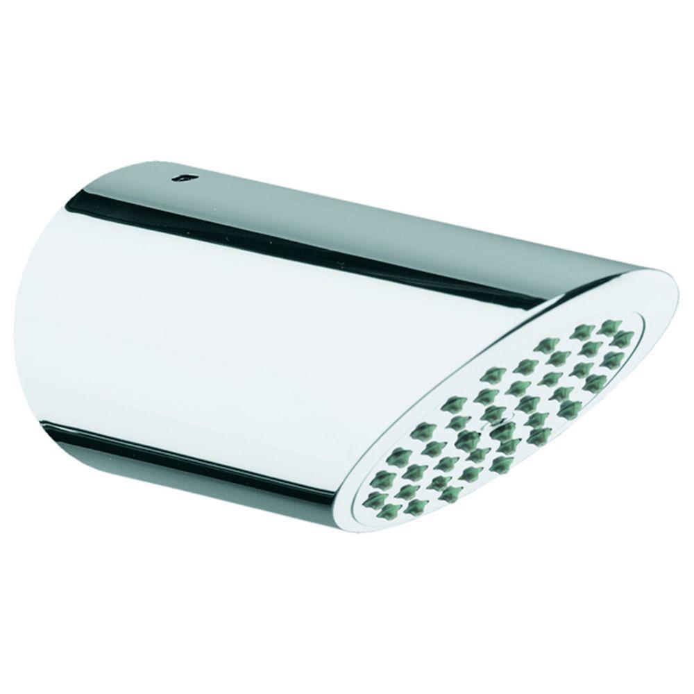 GROHE Sena 1-Spray 3 in. Fixed Shower Head in StarLight Chrome ...