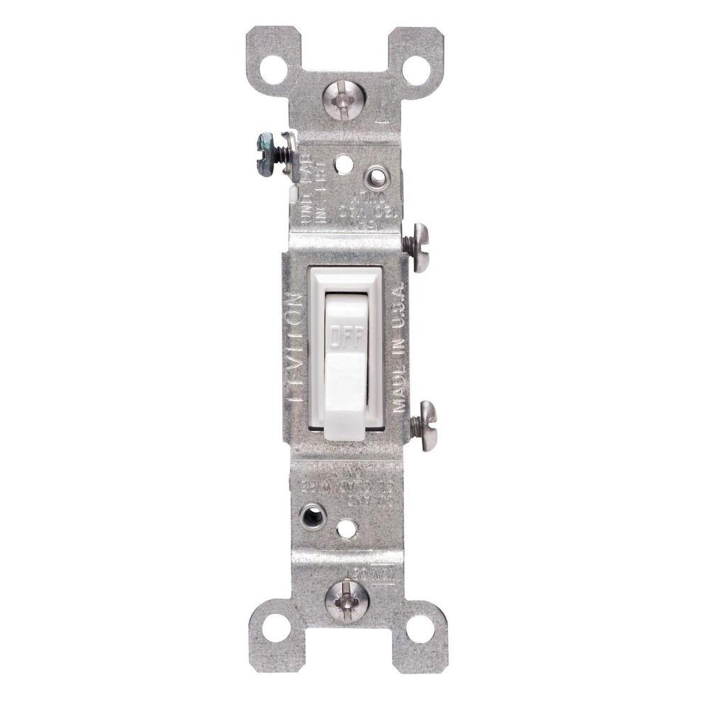 Switches Outlets Archives Garland Home Center Amp Tamper Resistant Combination Single Pole Toggle Switch And 2pole 10 Pack Leviton 15 In White 1451 Wcp