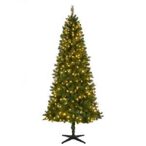 home accents 75ft led wesley artificial christmas tree - 75 Ft Slim Christmas Tree
