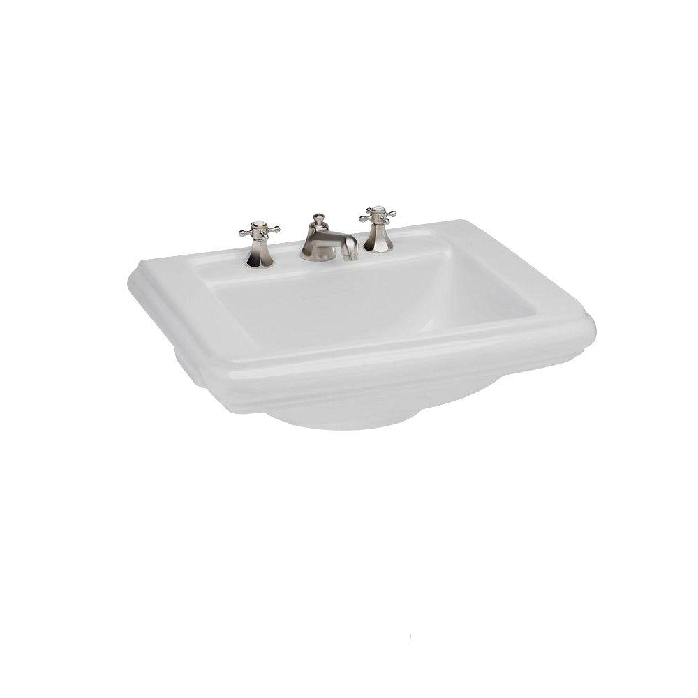 St. Thomas Creations Petite 6-7/8 in. Lavatory Sink in White ...