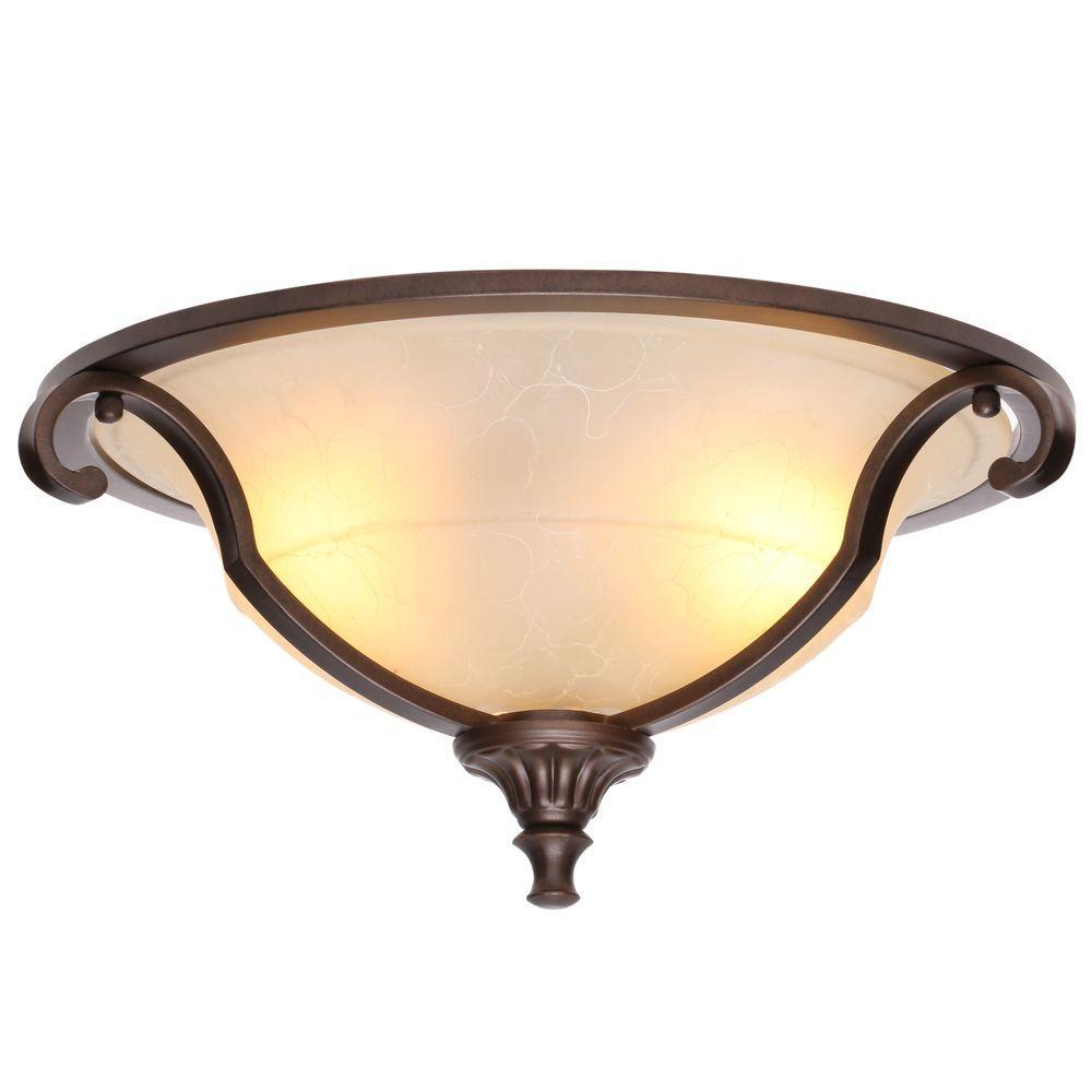 Home Decorators Collection Fairview 16 in. 2-Light Heritage Bronze ...