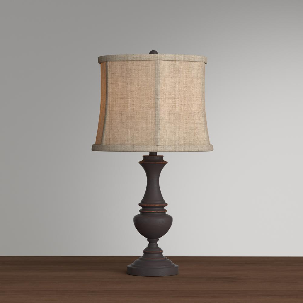 Hampton bay candler 2575 oil rubbed bronze table lamp bell shaped hampton bay candler 2575 oil rubbed bronze table lamp aloadofball Choice Image