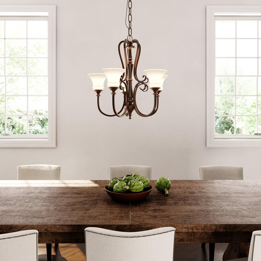 Hampton bay reims 5 light berre walnut chandelier with driftwood hampton bay reims 5 light berre walnut chandelier aloadofball Choice Image