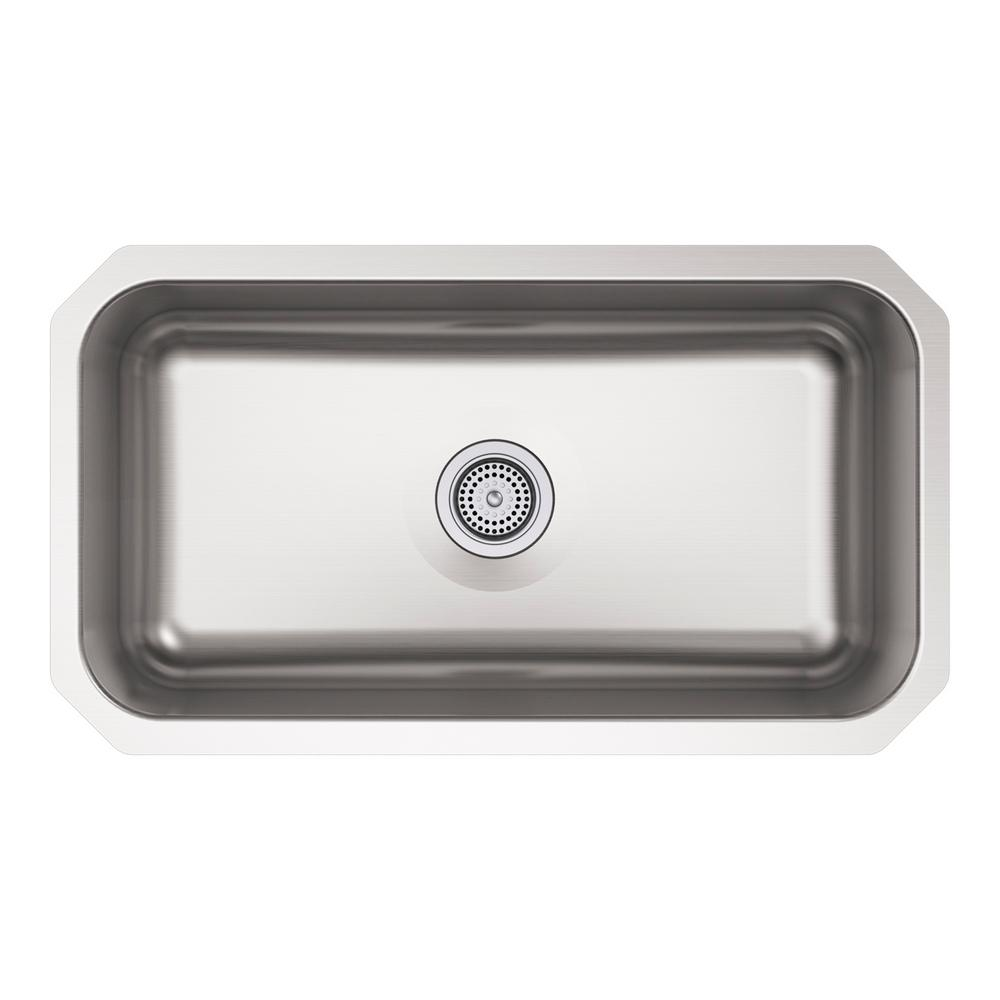 KOHLER Ballad Undermount Stainless Steel ...